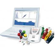 Cardiograph,  doppler,  encephalograph,  miograph,  rheograph,  Canberra