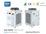 S&A compressor refrigeration chillers for vacuum machines