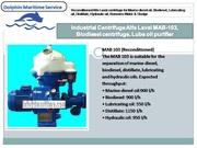 Alfa Laval industrial centrifuge,  waste oil Separators,  engine