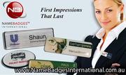 Name Badges & Tags with No Setup Fees at Name Badges International