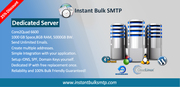 Start Smtp service with your own dedicated server in just 250$.
