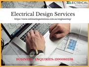 Electrical design services | Engineering services | Call Now 130008323