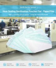 Heat-sealing sterilization pouches