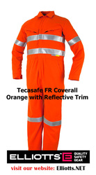 Flame Resistant Coveralls - Work Safety Clothing