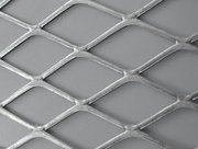 Flattened Expanded Metal Feels Smooth and Rigid