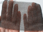 Chainmail Collar with Adjustable Genuine Leather Strap