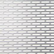 Slot Hole Perforated Mesh for Guardrail,  Isolation and Screening