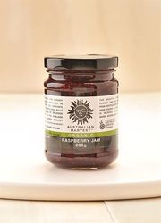 Delicious and Nutrient-rich Organic Raspberry Jam