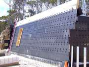 ReFORM Wall for Mt Hotham Project - Zego