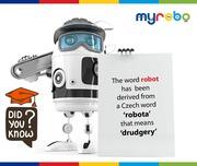 ENROLL YOUR KIDS ON ROBOTICS