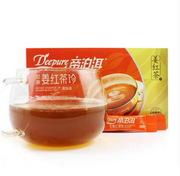 Healthy drinking puerh and matcha tea on sale