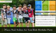 Places Near Sydney For Your Kids Birthday Party