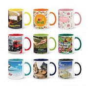 Custom Printed Ceramic Coffee Cups at My Promotional Products