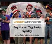 Boys Laser Tag Party Syndey   Laser Warriors