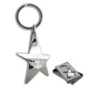 Customised Silver Stella Keychain | Vivid Promotions Australia