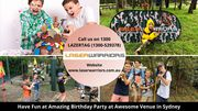 Have Fun at Amazing Birthday Party at Awesome Venue in Sydney